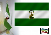 Flag of Andalusia for office