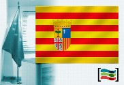 Flag of Aragón for office