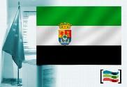 Bandera de Extremadura para despacho