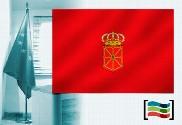 Bandera de Navarra para despacho