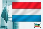 Flag of Luxemburgo for office