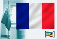 Bandeira da França para despacho