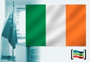 Bandera de Irlanda para despacho