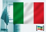 Bandera de Italia para despacho