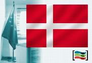 Bandera de Dinamarca para despacho