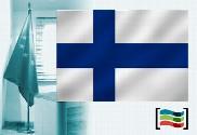 Bandera de Finlandia para despacho