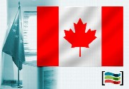 Flag of Canada for office