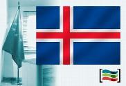 Drapeau du Islande pour bureau