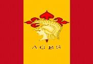 Bandera de mochila Academia General Básica de Suboficiales