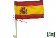flag and car mast