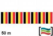 Plastic flags Belgium 50m