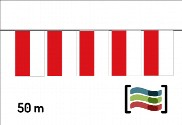Pennants of plastic Cantabria 50m