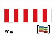 Banderines de plástico Cantabria 50m