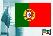 Portugal flag for office