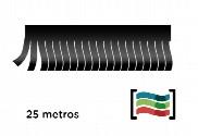 Tiras de flecos negro