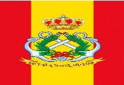 Bandera de mochila Escuela Naval Militar