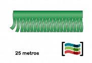 Tiras de flecos verde