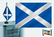Tovaglia ricamata bandiera della Scozia