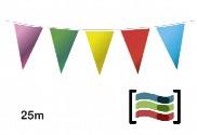 Banderines de colores 25m