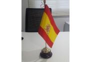 Bandera sobremesa España