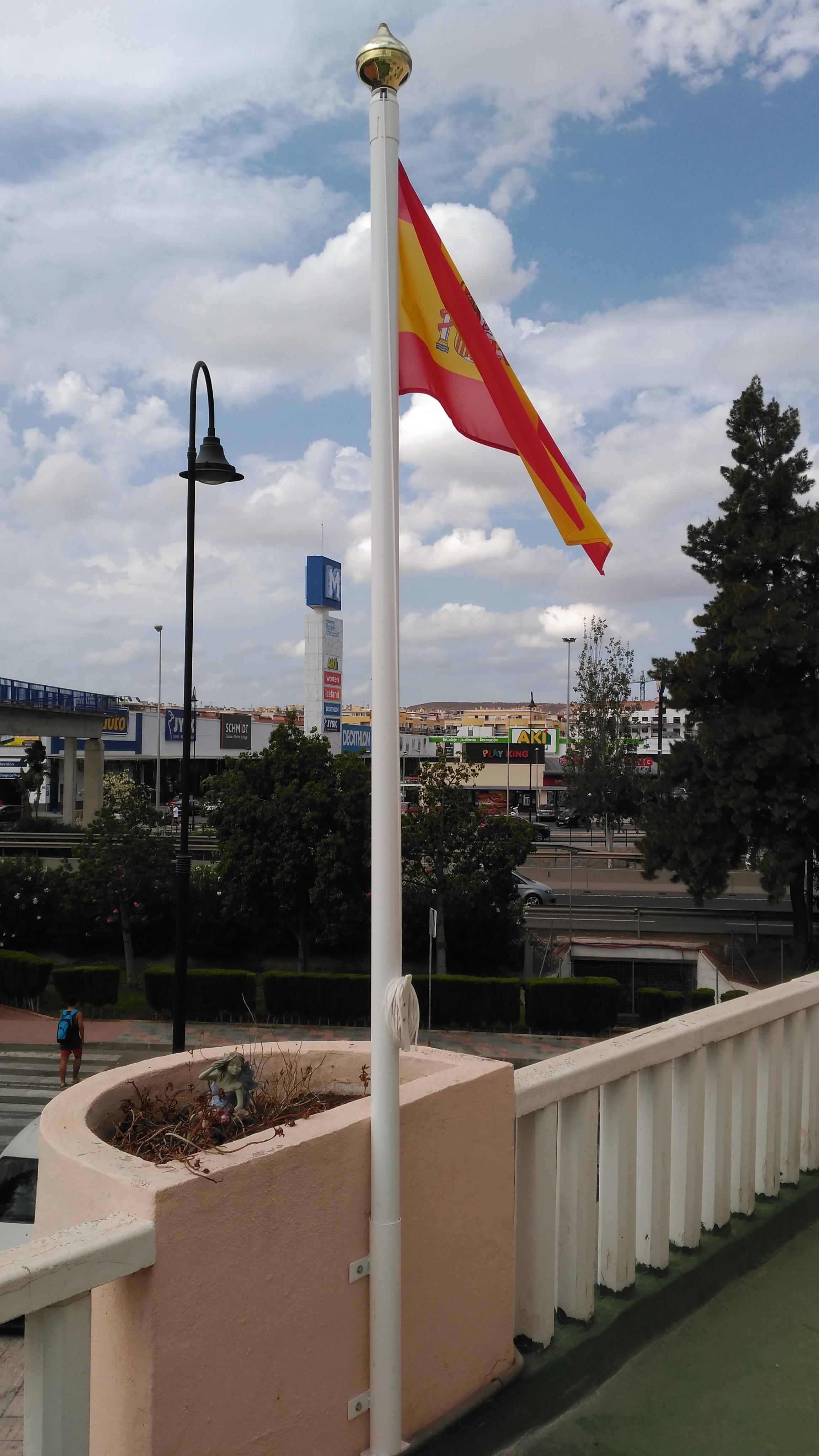 Bandera de España con envío en 24h - Comprarbanderas.es