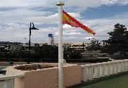 Drapeau de la Espagne bouclier