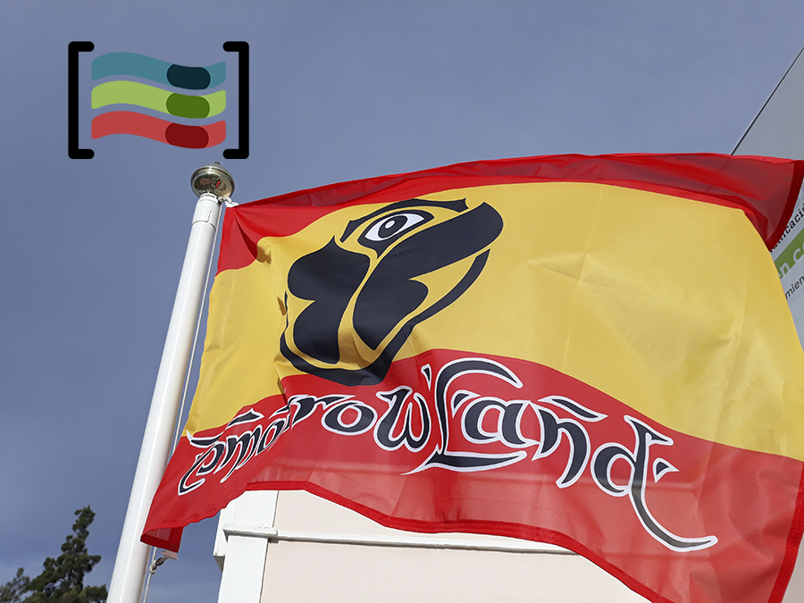 Tomorrowland Spain Flag Available To Buy Flagsok Com