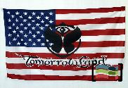 Bandera de Estados Unidos Tomorrowland
