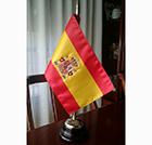 Bandera sobremesa bordada