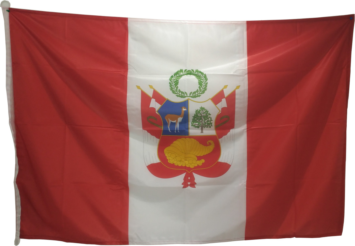 bandera de peru imagen
