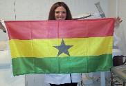 Drapeau de la Ghana