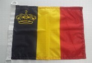 Bandera de Bélgica yates
