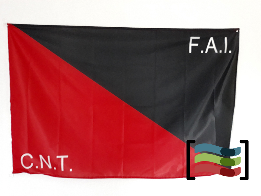 d1e49e26ca53 Iberian Anarchist Federation Flag available to buy - Flagsok.com