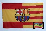 Bandera de España Cataluña FC Barcelona