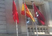 Bandera de Pack 3 España + Com.Autónoma + Localidad