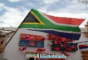 Drapeau de la Afrique du Sud