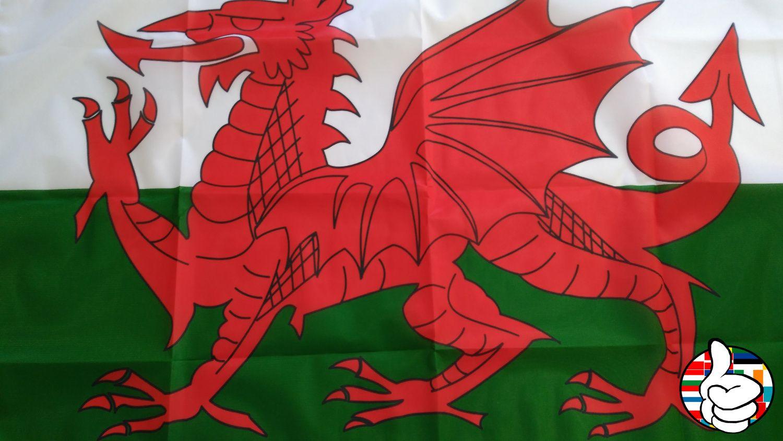 Comprar Bandera Gales - Comprarbanderas.es