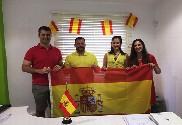 Bandiera di Espagna + gagliardetti