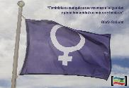 Bandera de Feminista