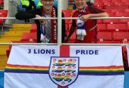 Bandera de 3 Lions Pride