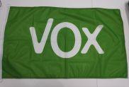 Drapeau de la VOX verde