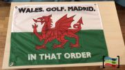 Drapeau de la Wales Golf Madrid