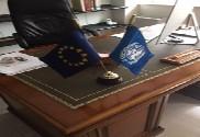 Bandera de ONU (Naciones Unidas)