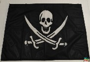 Bandeira do Pirata jack rackham