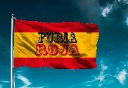 Bandera de Furia Roja