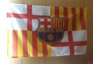 Bandera de Barcelona personalizada