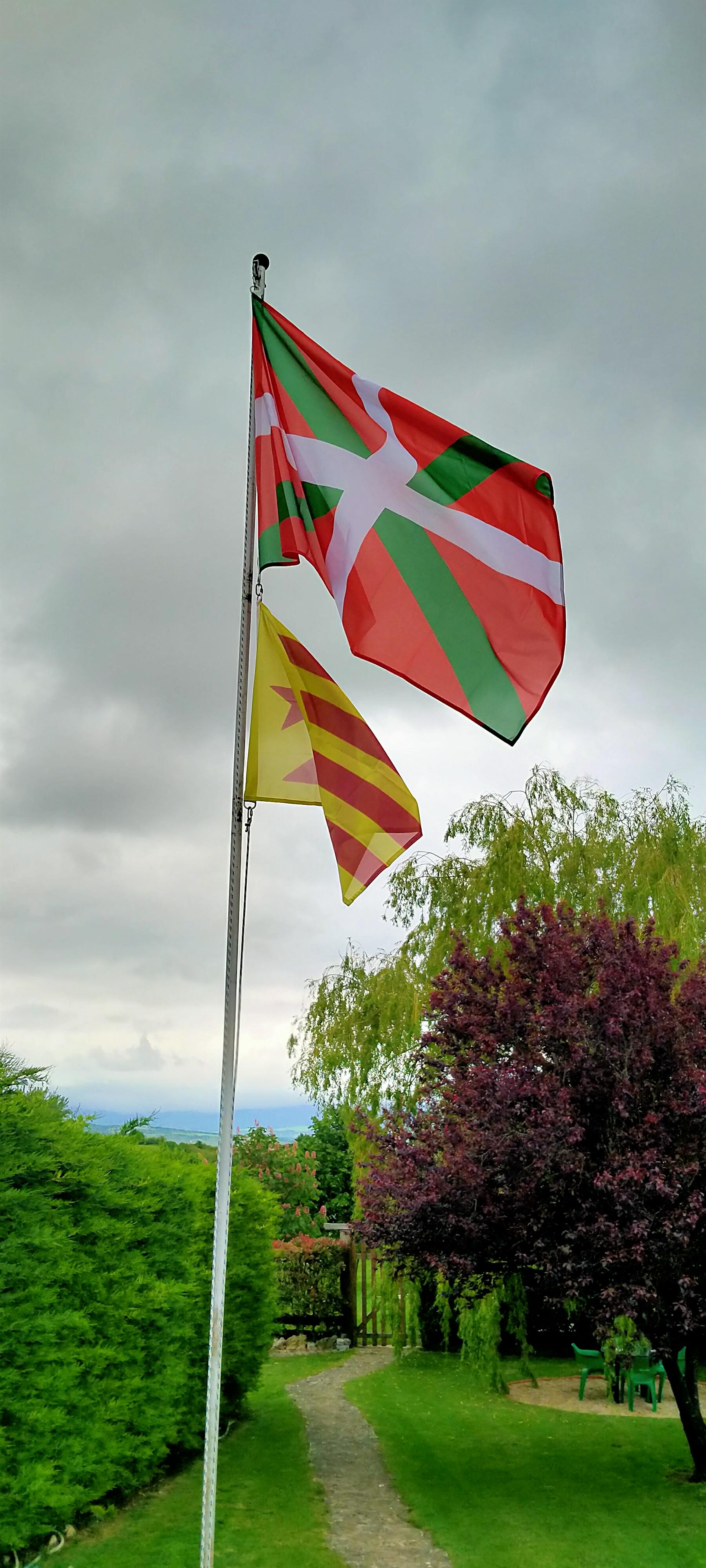 U24/Drapeau du Pays Basque haute qualit/é pour bateau drapeau 20/X 30/cm
