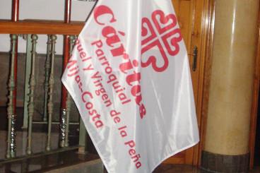 Bandera Caritas Mijas