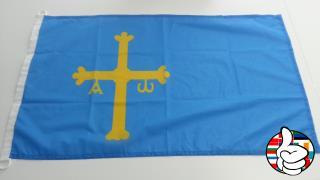 Bandera de Principado de Asturias