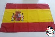 Drapeau Espagne bouclier